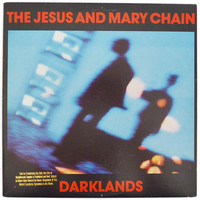 Vintage 80s The Jesus and Mary Chain Darklands Promo Alternative Rock Album Record Vinyl LP