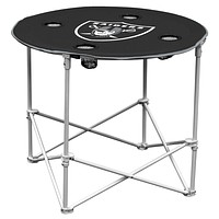 Raiders Round Tailgate Table