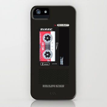 Diane, Dale Cooper's Tape Recorder Case iPhone & iPod Case by Welcome To Twin Peaks | Society6
