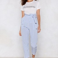 It's a Picnic Gingham Pants