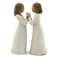 Willow Tree Sisters By Heart 2 Piece Figurine