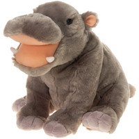 """10"""""""" Bb Hippo with Picture Hangtag Case Pack 12"""