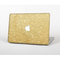 The Gold Glitter Ultra Metallic Skin Set for the Apple MacBook Pro 13""