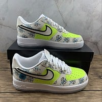 Morechoice Tuhz Nike Air Force 1 Worldwide Pack Low Sneakers Casual Skaet Shoes Da1343-117