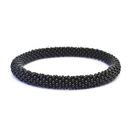 Solid Black Bracelet