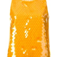 Moschino Cheap & Chic sequinned top