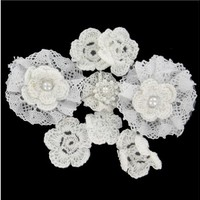 White Crochet Flower Assortment | Shop Hobby Lobby