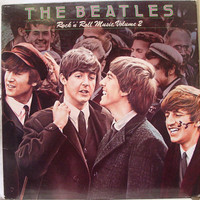 The Beatles - Rock and Roll Music Vol. 2 Vintage Album Lp - Capital Records 1976