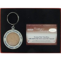 Steiner Sports Boston Red Sox Keychain with Game Field Dirt
