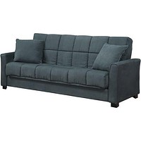 Unique Convertible Sleek Futon Sofa Sleeper Bed and Lounger