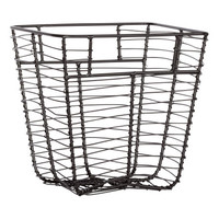 Small Metal Basket - from H&M