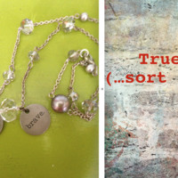 True (...Sort of) Hope and Brave Necklace