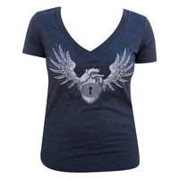 Love Lost Women's V-Neck T-Shirt by Annex Clothing