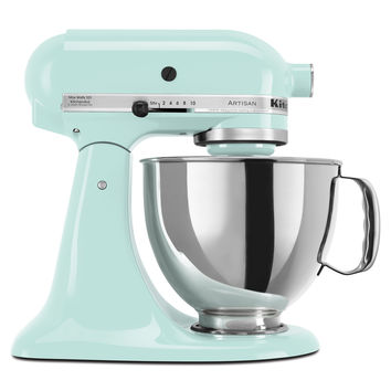 KitchenAid KSM150PSIC Ice 5-quart Artisan Tilt-Head Stand Mixer *with Rebate*