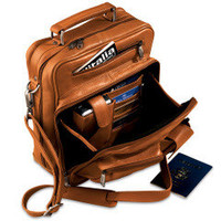 The Organized Traveler's Carry On - Hammacher Schlemmer
