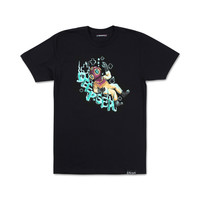 Distressed Deepsea Diver Tee in Black – Pink+Dolphin