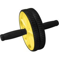 Evelots AB Wheel Roller W/ Knee Pad,Body Press,Exercise Fitness,Body Work Outs