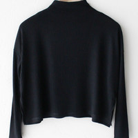 Mock Neck Top
