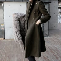 Winter Coat Women's Fashion Slim Jacket [8939743750]