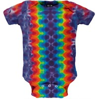 Horizontal Pleats Infant Bodysuit