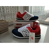 """New Balance"" Sport Casual Multicolor N Words Breathable Unisex Sneakers Couple Running Shoes"