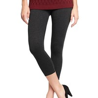 Old Navy Womens Cropped Jersey Leggings