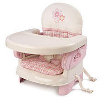 Summer Infant Deluxe Folding Booster Seat - Girl