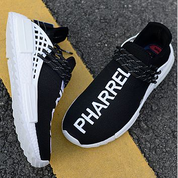 Adidas Human Race NMD Male and female fashion sneakers