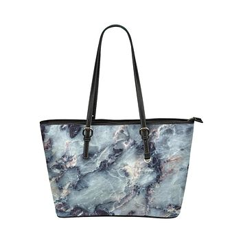 Tote Bags, Gray and White Marble Style Bag