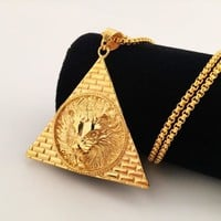 Stylish New Arrival Jewelry Gift Shiny Club Hip-hop Necklace [8439465027]