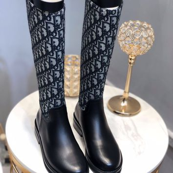 DIOR Women Fashion Boots