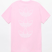 adidas Multi Hit 3 Trefoil Pink T-Shirt at PacSun.com