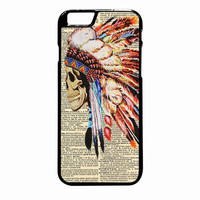 Indian Skull Tribal Dictionary iPhone 6 Plus case