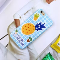 Original Summmer New Style Pineapple Iphone Protective Case + Nice Gift Box