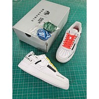 Nike Airforce 1 Low Back Printing Fashion Shoes