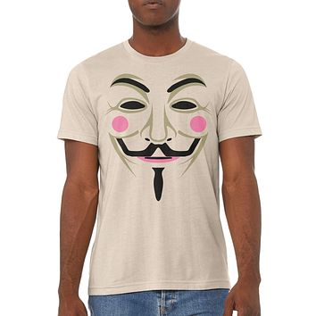 Guy Fawkes Shirt Short-Sleeve Unisex T-Shirt