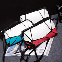 Metal Bags Patchwork Stylish Zippers Tote Bag [6583169927]
