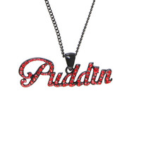 DC Comics Harley Quinn Puddin Bling Necklace