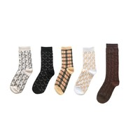 Socks Women Men Unisex Sport Sock Cotton New Fall Winter  Warm Soft Letters Socks Fashion Designer Brand Accessories
