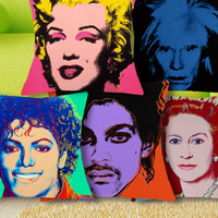 Icons  Cushion Pillow Cases