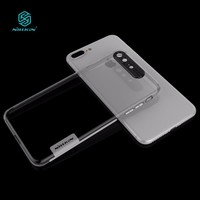 NILLKIN Nature Soft silicon TPU cover for iphone 8 plus case clear luxury for iphone 8plus cover 5.5''