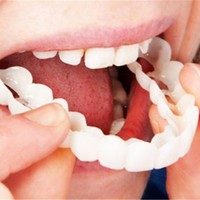Practical Design Men Women Tooth Instant Perfect Smile Comfort Fit Flex Teeth Fits Whitening Smile False Teeth Cover