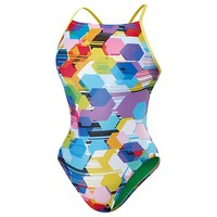 Poly Gone Mesh Back - Speedo Endurance Lite | Speedo USA