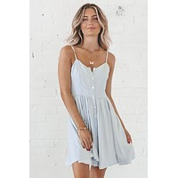 In My Mind Button Down Dress