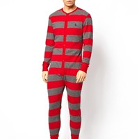 Jack Wills Bolberry Striped Onesuit