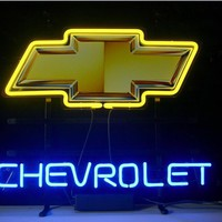 Chevrolet Real Neon Sign