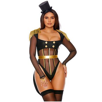 Forplay Follow The Leader Sexy Ringleader Costume