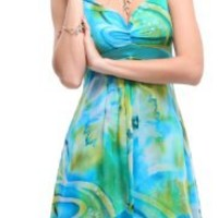 Ever Pretty Striking Floral Printed Empire Beach Summer Dresses 03187