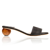 Charcoal Sphere Sandal
