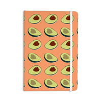 "KESS Original ""Avacado Love"" Green Food Everything Notebook"